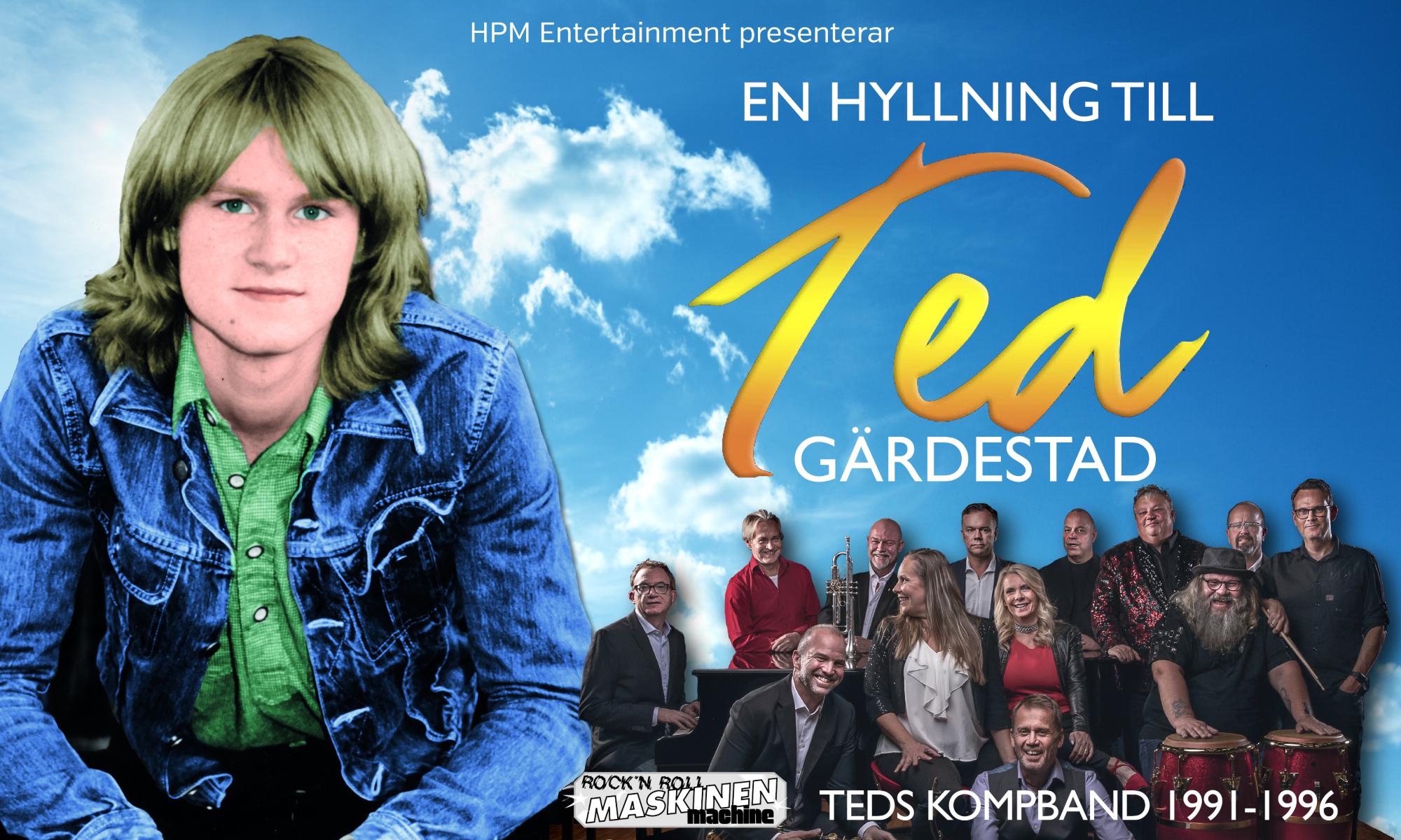 Evenemangsbild för En Hyllning Till Ted Gärdestad